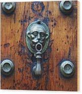 Mexican Door Decor 13  Wood Print