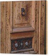 Mexican Door Decor 5  Wood Print