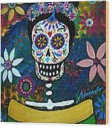 Mexican Lady Wood Print