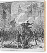 Mexican War: Monterrey Wood Print by Granger