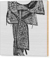 Mexico: Saddle, 1882 Wood Print