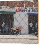 Mexico Tiendas Shops By Tom Ray Wood Print