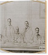 Meyer Guggenheim And Sons Wood Print