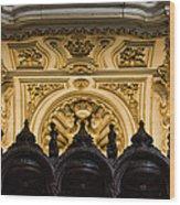 Mezquita Cathedral Choir Stalls Details Wood Print