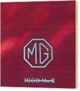 Mg 1600 Mk II Emblem Wood Print