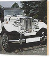 Mg Classic Car Wood Print