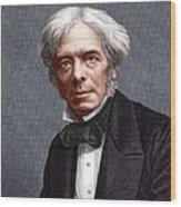 Michael Faraday, English Chemist Wood Print