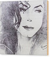 Michael Jackson - Nothing Compared To You Wood Print