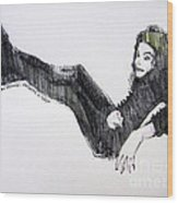 Michael Jackson - Turn It On Wood Print