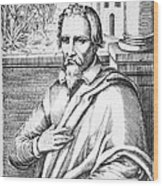 Michael Servetus, Spanish Physician Wood Print by