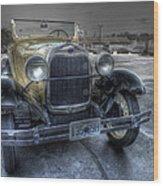 Mickey's Car Wood Print