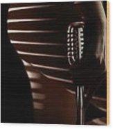 Micro-stripe 2 Wood Print