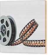 Microfilm Wood Print