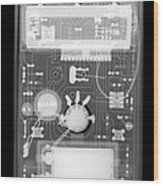 Microprocessor Wood Print