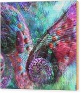 Microscope Dreaming 3 Wood Print