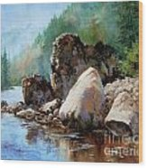 Middle Fork Salmon River Wood Print