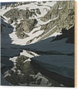 Middle Palisade Peak Reflects In Finger Wood Print