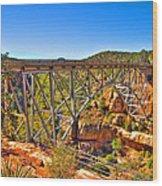 Midgley Bridge Sedona Arizona Wood Print