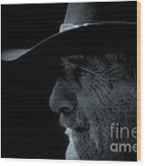 Midnight Cowboy Wood Print