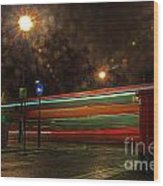Midnight In Mayfair Wood Print