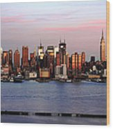 Midtown Manhattan 02 Wood Print