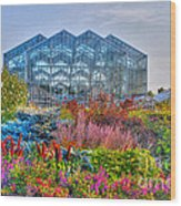 Miejer Gardens Revisited Wood Print
