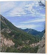 Mighty Mountain I Wood Print