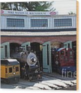 Mike Watson St. Turnhouse - Traintown Sonoma California - 5d19249 Wood Print