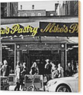 Mikes Pastry In Boston 2011 Wood Print