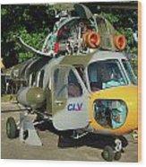 Mil Mi-2 Hoplite Wood Print
