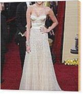 Miley Cyrus Wearing A Jenny Packham Wood Print