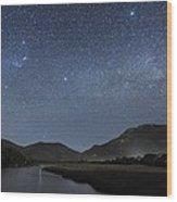 Milky Way Over Wilsons Promontory Wood Print by Alex Cherney, Terrastro.com