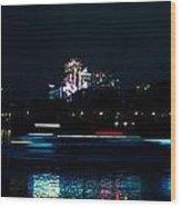 Millbank Firework Display Wood Print
