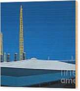 Millennium Dome Abstract Wood Print