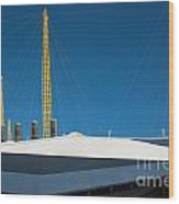 Millennium Dome London Wood Print