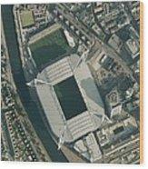 Millennium Stadium, Cardiff,aerial View Wood Print