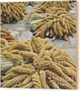 Millet Grain Wood Print