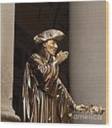 Mime Florence Italy Wood Print