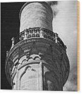 minaret of the 16th century Grand Mosque or Djami Kebir in Larnaca Republic of Cyprus Wood Print