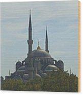 Minarets Wood Print