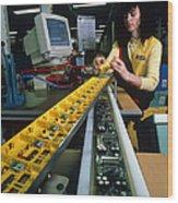 Mindstorm Programmable Lego Brick Manufacture Wood Print