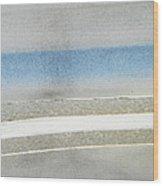 Minimalism In Primarily Grey Wood Print