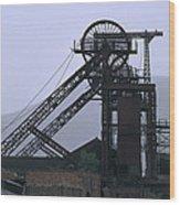 Mining History Wood Print