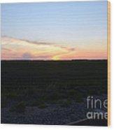 Minnesota Sunset 17 Wood Print
