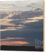 Minnesota Sunset 2 Wood Print