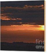 Minnesota Sunset 6 Wood Print