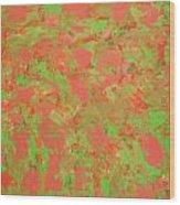 Mint Melonly Wood Print