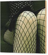 Minty Wood Print by Pawel Piatek