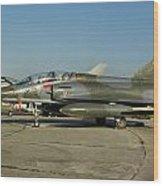 Mirage 2000n Wood Print