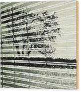 Mirages Wind Wood Print by Empty Wall